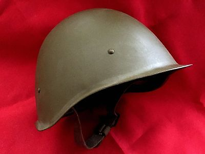NEW Soviet Russian Soldier Helmet made in USSR CCCP 1957, NEW OLD STOCK