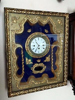 Clearance Sale!!! French Antique Wall Clock, Rare One!!!