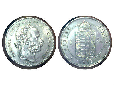 1  Ferenc 1879 Ferencz Jozsef Magyar Kiralysag Fiorino Ungherese Silver Argento
