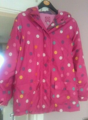 joules girls coat age 11/12