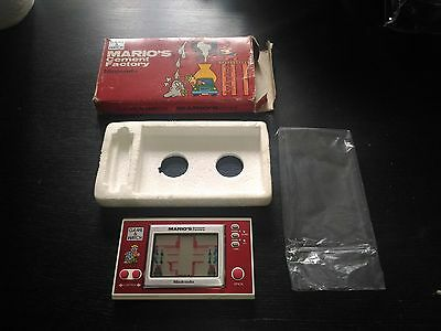game and watch mario cement factory