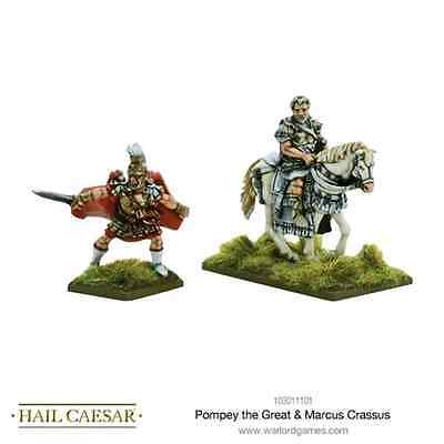 Warlord Games: Pompey the Great & Marcus Crassus - 2 miniature scala 28mm