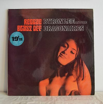 BYRON LEE & THE DRAGONAIRES Reggae Blast Off UK TROJAN LP 1980 Blue Label