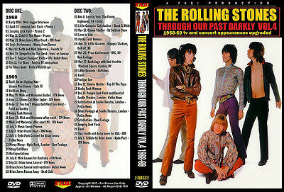 The Rolling Stones: Though Our Past Darlky Vol.4 1968-1969 2 Dvds