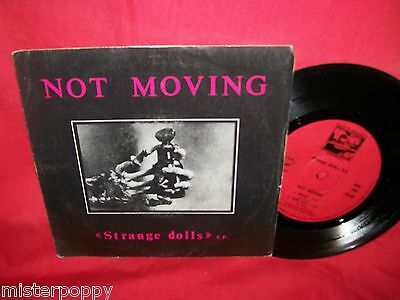 """NOT MOVING Strange Dolls EP 7"""" 45rpm 1982 ITALY MINT TOP!!!"""