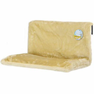 Me & My Plush Cat Radiator Snug Bed Warm Fleece Basket Cradle Hammock Pet Igloo