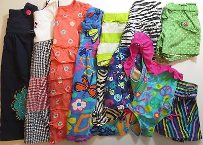 Lot Girls Size 3T Play Clothes Shorts Skirts Dresses Spring Summer