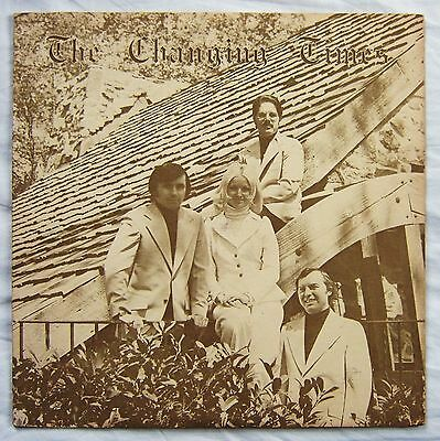 THE CHANGING TIMES Rare Private Press US EASY FUNK LP Grazing In the Grass FLUTE