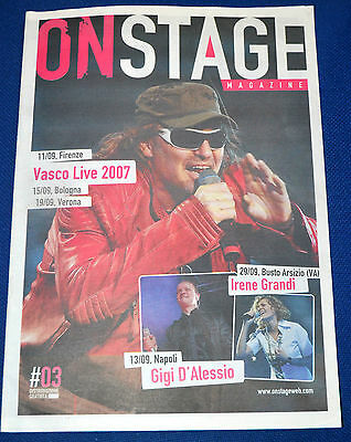 Vasco Rossi On Stage 2007 Super cover!