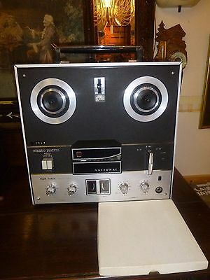 National Stereo Tape Recorder RS-760S Reel To reel Tape Recorder ,Fully Working