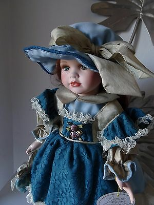 China doll leonardo collection doll name Gemma height 40 cm approx ex display