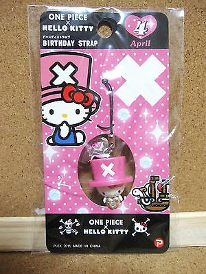 Hello Kitty X One Piece Chopper Phone Strap Charm Mascot Figure April ver.