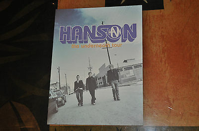*RARE* BRAND NEW Hanson 2004 Underneath Tour Book!