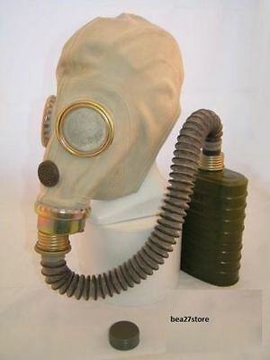 Gas Mask & Voice Chamber, Filter, Hose And Waterpfoof Bag All Sizes Spare Parts