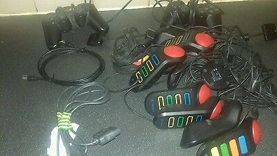 playstation 2 controls 2 set of buzz hand sets and wires