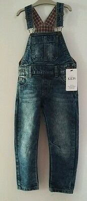BNWT M&S girls/boys demin dungarees, size 3-4yrs
