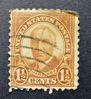 1930 Harding Issue 1 1/2 Cents Stamp, Used...............................0169AD