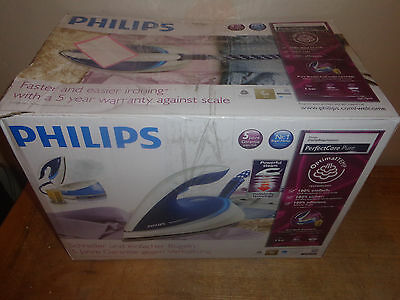 Philips GC7619 PerfectCare Steam Generator Iron with 180g/min With Steam Turbo