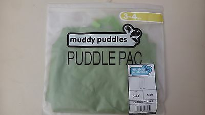 MUDDY  PUDDLES PUDDLEPAC  bnib APPLE sz 3-4 years