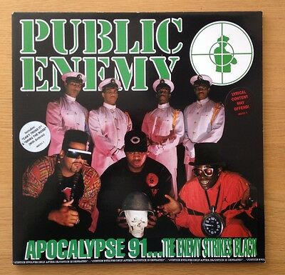 PUBLIC ENEMY - Apocalypse 91... original 2 x vinyl gatefold LP 1991