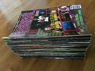 Terrorizer Magazines VERY FIRST ISSUES #1 - #41 With CDs and Tapes* Job lot x 47