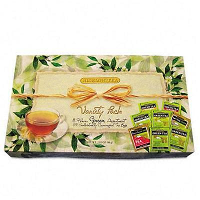 M & M S 30568 Green Tea Assortment 64 Tea Bags per box; Assorted Styles