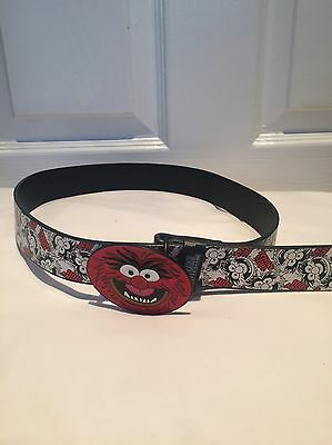 Childrens Animal Muppets Red Cartoon Belt - Age 6-10 Years