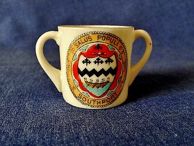 Victoria China. Southport Crest, Cup.