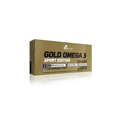 Gold Omega 3 Sport Edition Olimp Nutrition 120 caps