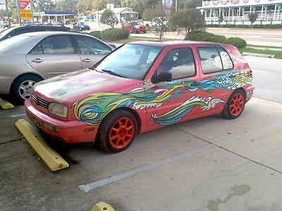 1994 Electric VW Golf Mark3 Electric Car/Art Work, Converted VW Golf, The Miami EV Project