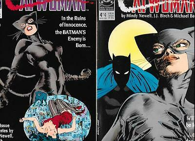 Complete Set Catwoman #1 #2 #3 #4 Batman F/NM FZ