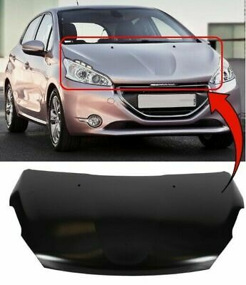 Peugeot 208 2012 On Bonnet With Square Washer Jet Holes New Insurance Approved