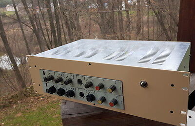 Vintage FONIA KM82 discrete equalizers with transformers Neve Siemens WORKING