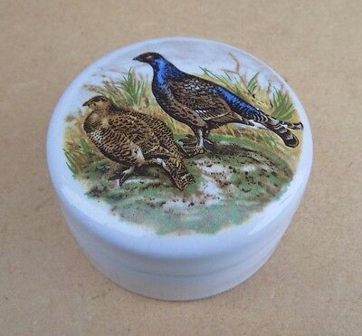 Patum Peperium Small Relish Pot and Lid with Game Birds Design