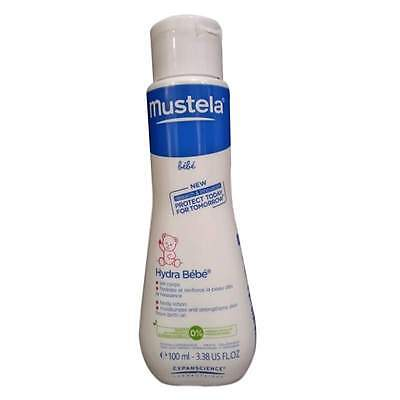 Mustela Bebe Hydra Bebe body lotion Hydrates and strengthens baby's skin 100ml