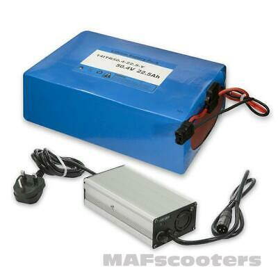 Lithium LiFe Po4 Battery 48 vt 22.5AH and Charger 4AH Electric E scooter  Bike