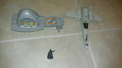 vintage star wars micro machines Bespin X-Wing