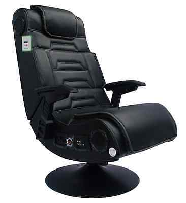 *Brand New* X Rocker Pro Gaming Chair with 2.1 Wireless Sound System, Black *FRE