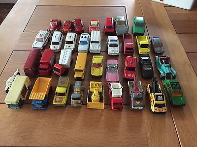 Mixed- Matchbox And Dinky Cars