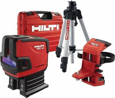 Hilti PMC 46 Laser MultiDirectional CombiLaser 2016 with case & all accessories.