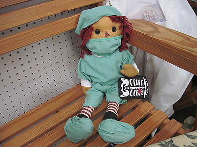 Raggedy Andy Doll - Doctor