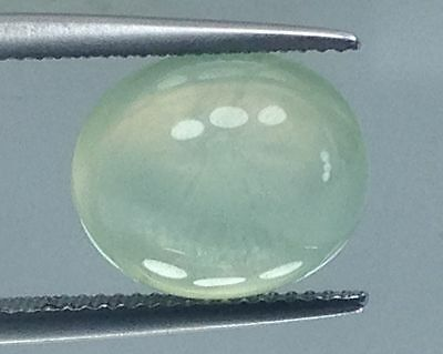 5CTS STUNNING NATURAL PREHINITE GEMS OVAl (3169)