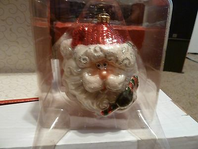 Fitz and Floyd Today's Treasures Tomorrow's Traditions Santa Claus Ornament 5""