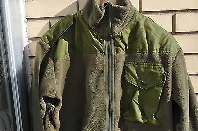 CANADIAN ARMY FLEECE Shirt IECS Combat Sweatshirt Size 6740 Short Medium OD NEW