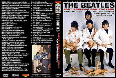 The Beatles Lost Archives Raw Footage Vol.1 1963-1980 Dvd