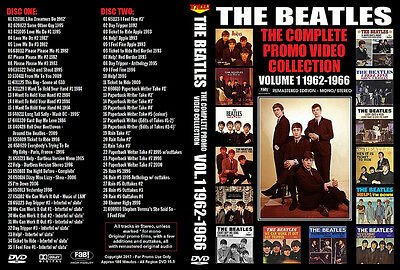 The Beatles: Promo Video Collection Vol.1 1962-1966 2 Dvd New 2016