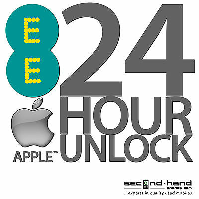 UK iPhone 5 5S 5C 6 6+ 6s SE Permanent Factory Unlocking Service For EE NEXT DAY