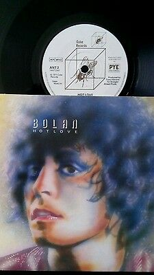 """Everyday is Black Friday Marc Bolan - T. Rex - Hot Love UK Cube 1971 7"""" P/S"""
