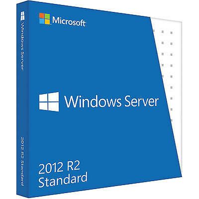MS Microsoft Windows Server 2012 R2 Standard ESD Produkt-Key 2CPU 2VMs OEM