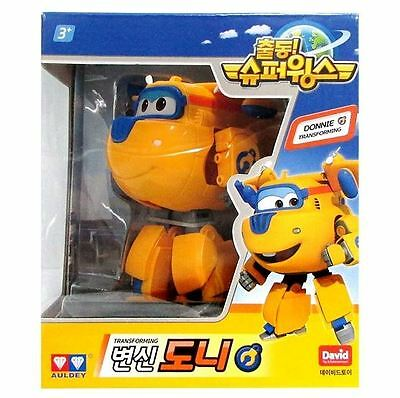 Super Wings Donnie Transforming Planes Toy by Auldey